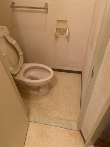綺麗になったトイレ